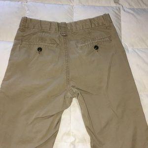 GAP Bottoms - Boys Gap Outlet Dark Khaki Pants